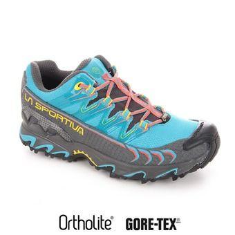 Chaussures trail femme ULTRA RAPTOR GTX malibu blue/coral