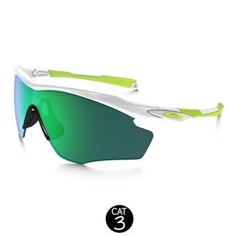 Gafas de sol M2 FRAME XL polished white/jade iridium®