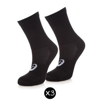 Pack de 3 pares de calcetines 3PPK CREW black