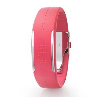 Bracelet traqueur d'activité LOOP 2 blanc rose