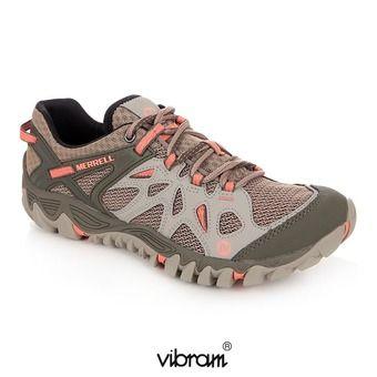 MERRELL. LES ESTIVALES -10% Chaussures randonnée femme ALL OUT BLAZE AERO  SPORT beige/khaki