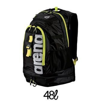 Sac à dos 48L FASTPACK 2.1 black/fluo yellow/silver
