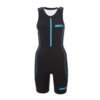 Tritraje mujer TRISUIT ST black/turquoise