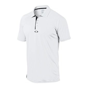 Polo MC homme ELEMENTAL 2.0 white