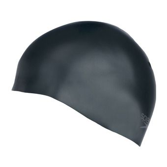 Gorro de natación PLAIN MOULDED black