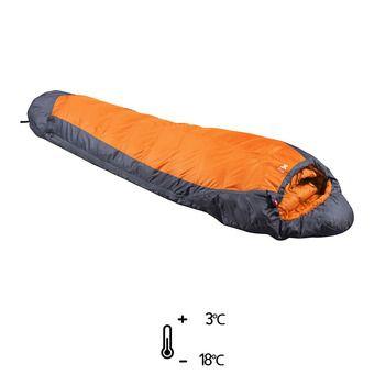 Sac de couchage 3°C/-18°C SUMMITER acid orange