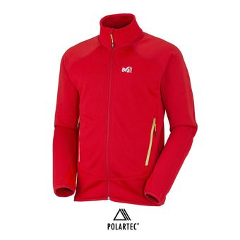 Chaqueta hombre TRIDENT GRID red