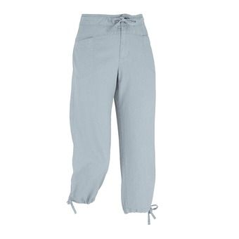 Pantalon 3/4 femme LD ROCK HEMP steel