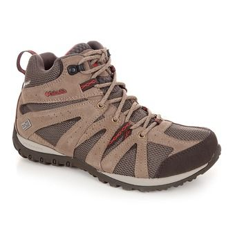 Zapatillas de senderismo mujer GRAND CANYON™ MID OUTDRY mud/poppy red