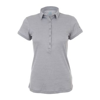 Polo mujer ZERO RULES™ II columbia grey heather