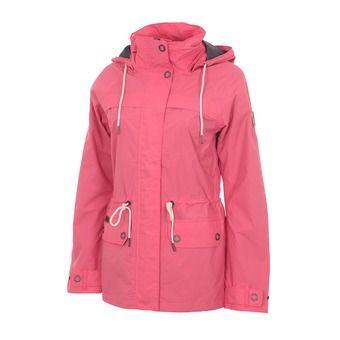 Veste à capuche femme REMOTENESS™ bright geranium