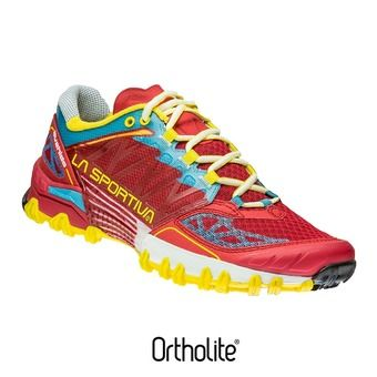 Zapatillas de trail hombre BUSHIDO berry