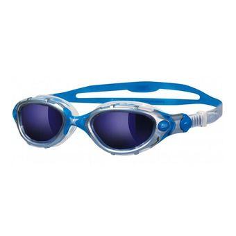 Lunettes de natation PREDATOR FLEX silver/clear blue mirror