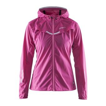Chaqueta mujer EDGE WEATHER smoothie/pop