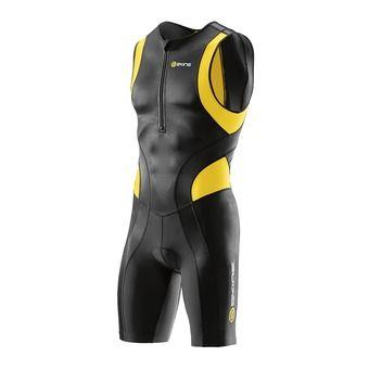 Tritraje hombre TRI400 black/yellow