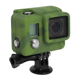 Housse silicone COVER HERO 3+ camo