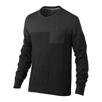 Pull homme SECTOR KNIT jet black