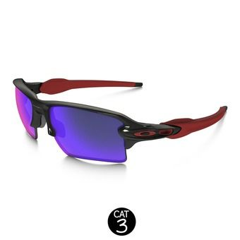 Gafas de sol FLAK 2.0 XL polished black /positive red iridium®