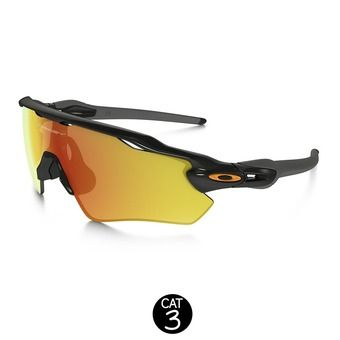 Lunettes RADAR EV PATH polished black / fire iridium