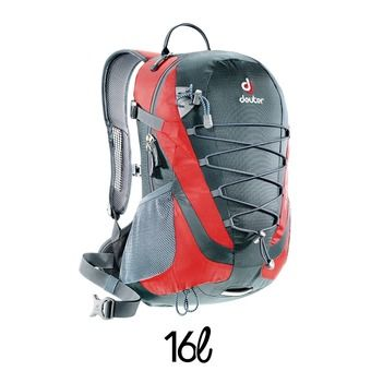 Sac à dos homme AIRLITE 16 granit/rouge