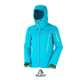 Chaqueta de esquí mujer TOURING SHIELD horizon blue