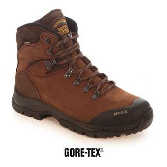 Zapatillas de senderismo hombre KANSAS GTX marrón oscuro
