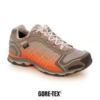 Zapatillas de senderismo mujer X-SO 30 GTX plateado/naranja