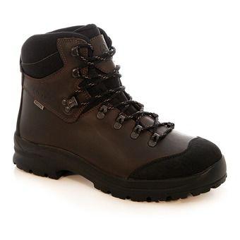 Chaussures de randonnée/chasse homme LAFORSE MTD dark brown