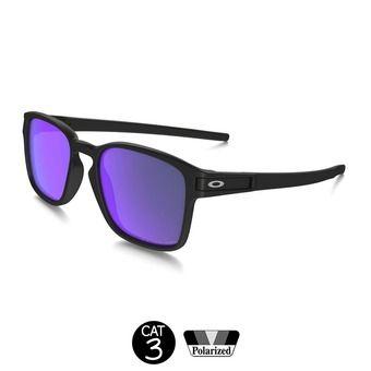 Lunettes de soleil polarisées LATCH SQ matte black w/violet iridium®