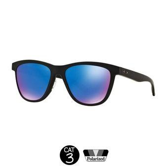 Gafas de sol MOONLIGHTER matte black w/sapphire iridium polarizadas