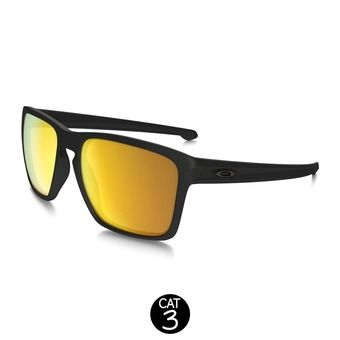 Gafas de sol SLIVER XL matte black w/24k iridium