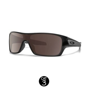 Lunettes TURBINE ROTOR polished black w/ warm grey