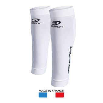 Manchons de compression BOOSTER ONE blanc