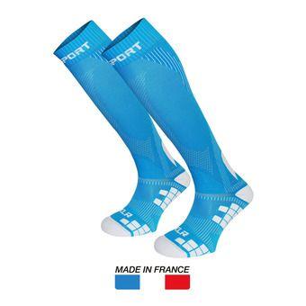 Chaussettes de compression XLR bleu