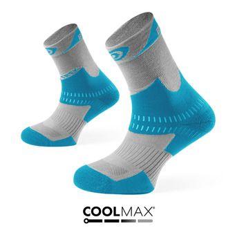 Chaussettes de randonnée TREK+ gris/bleu