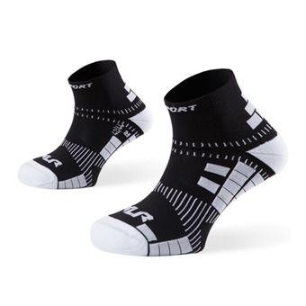 Socquettes de running XLR noir