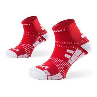 Socquettes de running XLR rouge