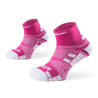 Calcetines de running mujer XLR rosa