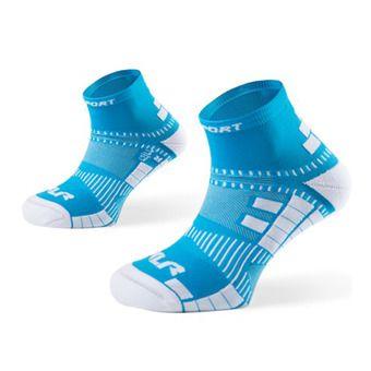 Socquettes de running XLR bleu