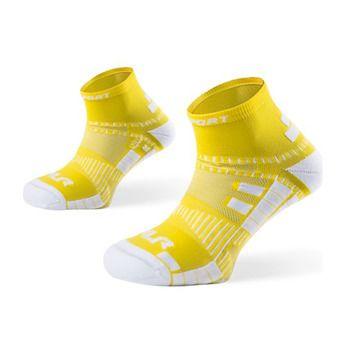 Socquettes de running XLR jaune