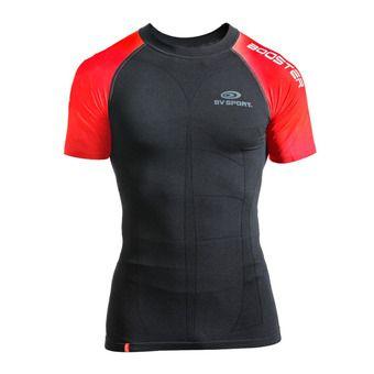 Camiseta sin mangas hombre SKAEL negro/rojo