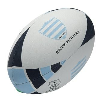 Ballon de rugby supporter RACING METRO T.5