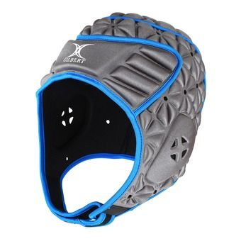 Casque de protection EVOLUTION gris/bleu