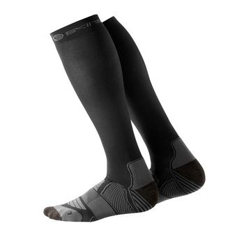 Chaussettes de compression homme ESSENTIALS ACTIVE black/pewter