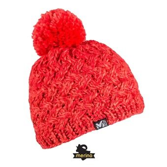 Gorro mujer WHYMPER hibiscus/hot coral
