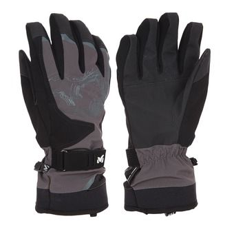 Guantes AMBER DRYEDGE black/charcoal