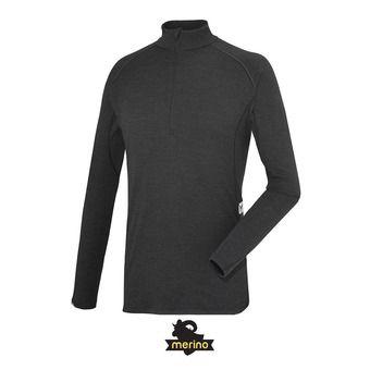 Camiseta térmica hombre C WOOL BLEND 200 black