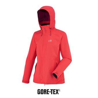Veste à capuche Gore-Tex® femme LD MONTETS hibiscus