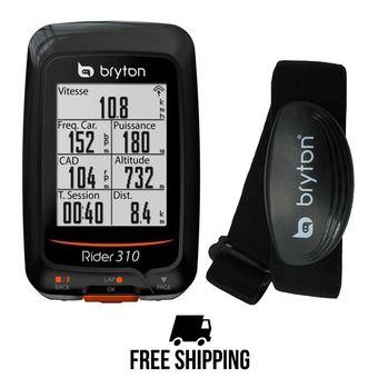 Cuentakilómetros de bicicleta RIDER 310 H con sensor de frecuencia cardíaca