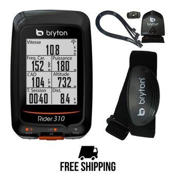 Cuentakilómetros bicicleta RIDER 310 T con sensor de cadencia/frecuencia cardíaca